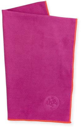 Manduka eQua® Hand Yoga Towel, Pink $16 thestylecure.com