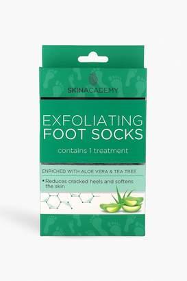 boohoo Skin Academy Exfoliating Foot Socks