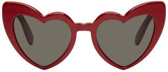 Saint Laurent Red SL 181 Lou Lou Sunglasses