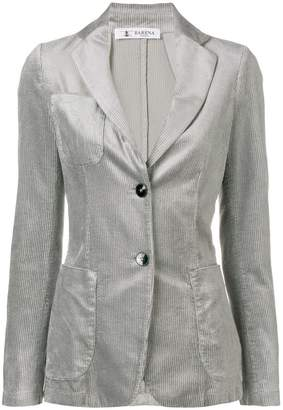 Barena corduroy single-breasted blazer