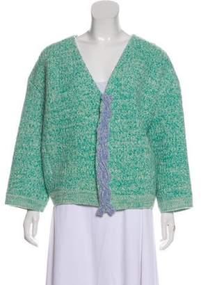 Vika Gazinskaya Wool Knit Cardigan