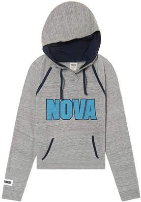 PINK Villanova University Bling Crossover Perfect Pullover
