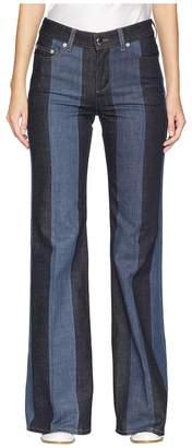 Sonia Rykiel Denim Stripes Jeans Women's Jeans