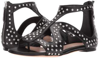 Alexander McQueen Caged Flat Sandal with Hammered Studs Women's Dress Sandals
