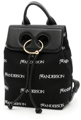J.W.Anderson Mini Pierce Logo Backpack