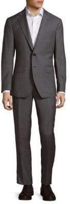 Saks Fifth Avenue Buttoned Wool Suit