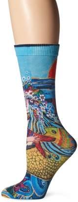 Laurèl Burch Women's Single Pack Novelty Animal Crew Socks