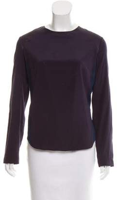 Rag & Bone Silk Colorblock Blouse