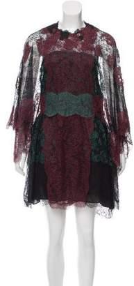 Valentino 2014 Lace Kimono Dress w/ Tags