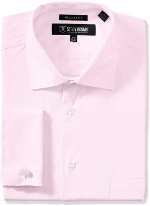 Stacy Adams Men's Big-Tall Adjustable Collar Dress Shirt