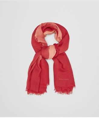 Bottega Veneta Red Wool Scarf
