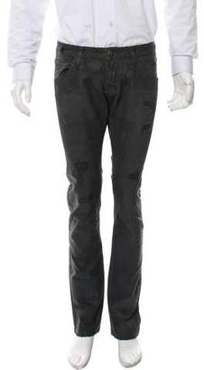 ARI Coated Distressed Jeans w/ Tags