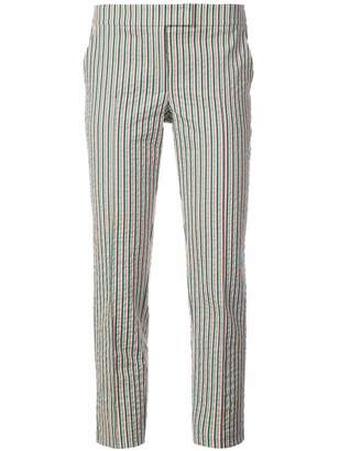 Akris Punto striped fitted trousers