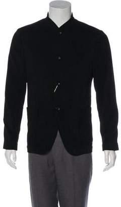 Armani Collezioni Mandarin Collar Jacket w/ Tags
