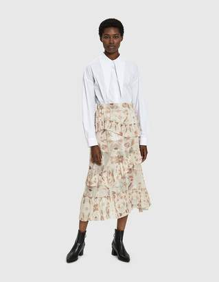 Need May Pleated Ruffle Skirt