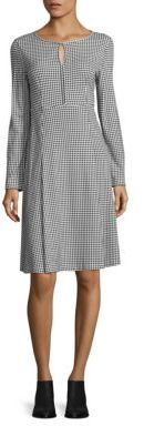 Max Mara Weekend Max Mara Urbano Check Keyhole Dress