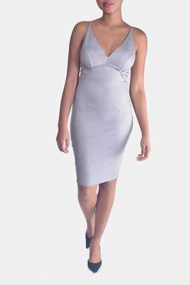Mystic Polished Bodycon Dress