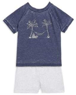 Splendid Baby's Screen T-Shirt and Short Set