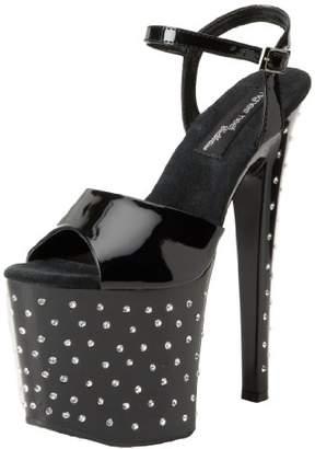 The Highest Heel Women's Starlite-11-Bpat Platform Sandal