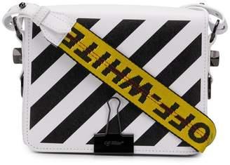 605aaf2efb95 Off-White diagonal stripe crossbody bag