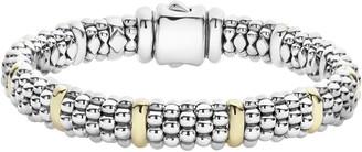 Lagos Oval Caviar Rope Bracelet