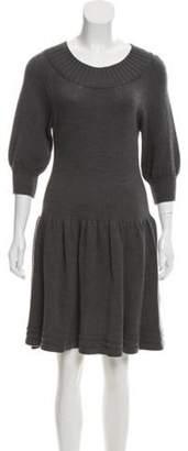 DKNY Merino Wool Sweater Dress wool Merino Wool Sweater Dress