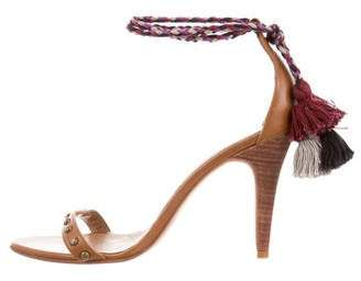Ulla Johnson Leather Tassel Sandals