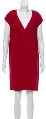 Miu Miu V-neck Knee-Length Dresss