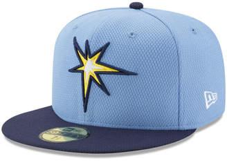 New Era Tampa Bay Rays Batting Practice Diamond Era 59FIFTY Cap