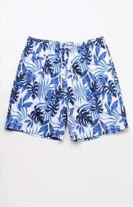 """Trunks Surf & Swim Brazilian Palm 17"""" Swim Trunks"""