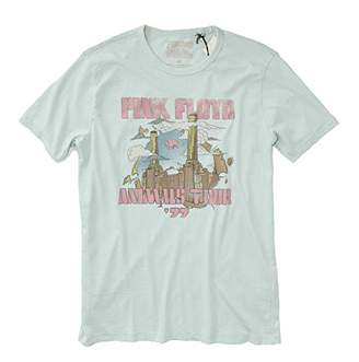Lucky Brand Men's Pink Floyd Towers Tee