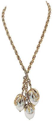 One Kings Lane Vintage 1950s Napier Cumquat Pendant Necklace