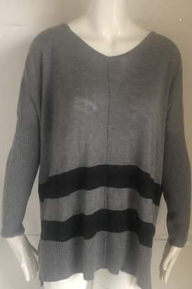 RD Style Grey V-Neck Sweater