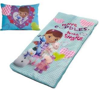 Disney Doc McStuffins Slumber Bag Set with BONUS Pillow