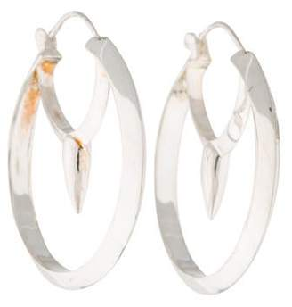 Pamela Love Large Arc Hoop Earrings