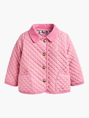 eab5be6c1 Baby Joule Mabel Quilted Jacket, Cherry Blossom