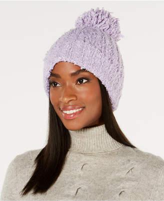 4c68a879a87e7 at Macy s · Ultrasoft Marcus Adler Ultra-Soft Boucle Pom Pom Hat