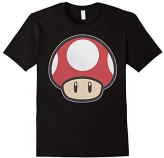 Nintendo Super Mario Mushroom Power-Up Graphic T-Shirt