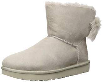 UGG Women's W Fluff Bow Mini Fashion Boot