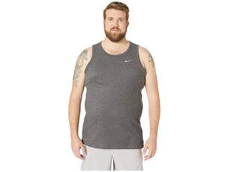Nike Big Tall Dry Tank Top Dri-Fit Cotton Solid
