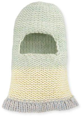 Calvin Klein Balaclava Fitted Knit Hood