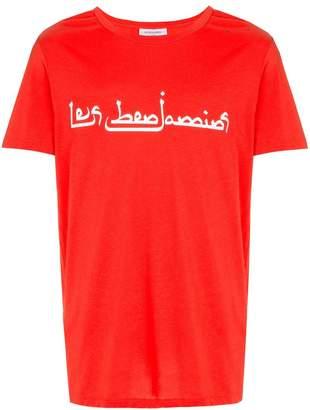 Les Benjamins front arabic logo T-shirt