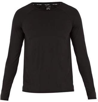 The Upside Logo Ribbon Stretch Jersey Top - Mens - Black