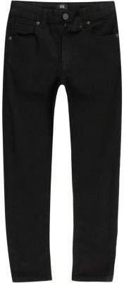 River Island Boys black Danny super skinny jeans