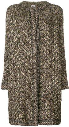 M Missoni embroidered fitted coat
