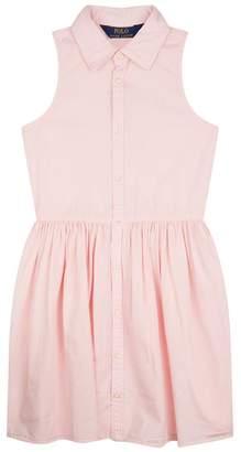 Polo Ralph Lauren Sleeveless A-Line Shirt Dress