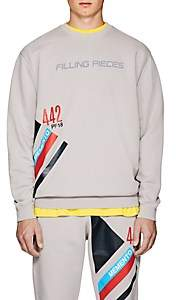 Filling Pieces Men's Memento Cotton Sweatshirt - Light Gray