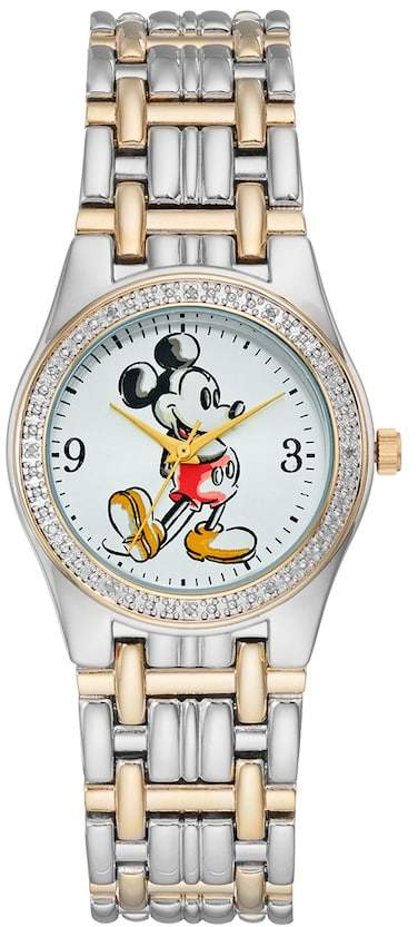 Disney Disney's Mickey Mouse Men's Two Tone Watch