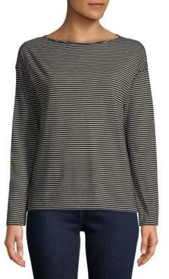 Vince Pencil Stripe Long-Sleeve Shirt
