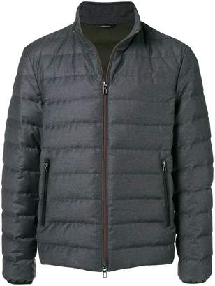 Loro Piana zip padded jacket